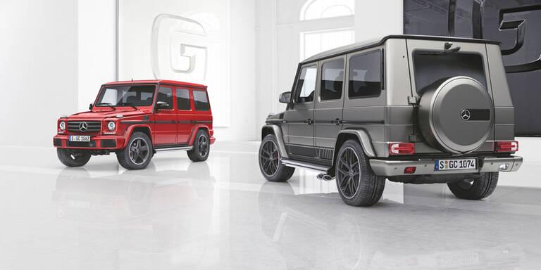 Zwei Sondermodelle für die G-Klasse
