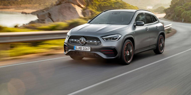 Das ist der völlig neue Mercedes GLA