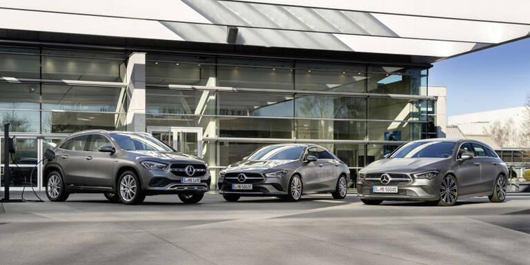 Mercedes GLA und CLA als Plug-in-Hybrid