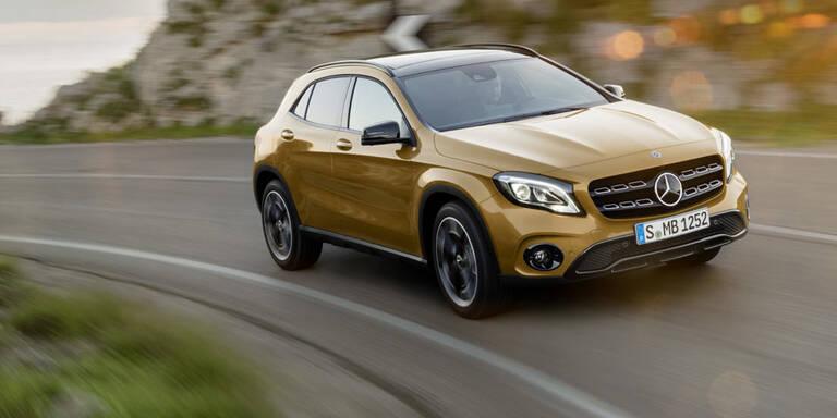 Facelift für den Mercedes GLA