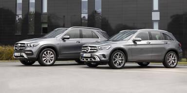 Mercedes GLE und GLC als Plug-in-Hybrid