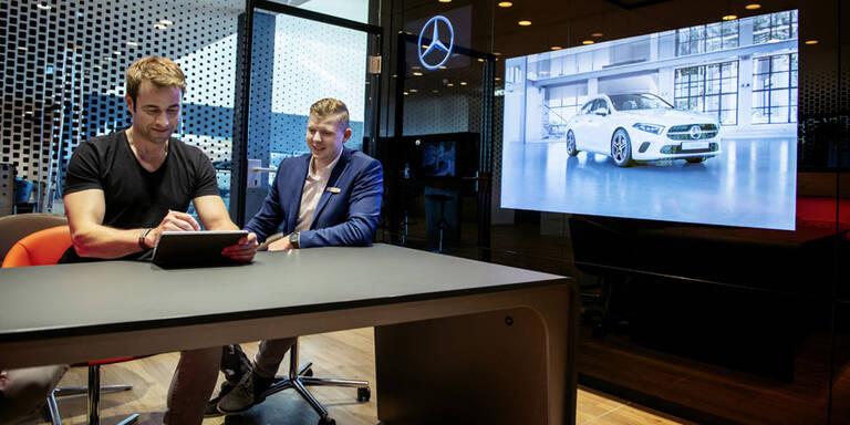 Mercedes setzt voll auf Online-Verkauf