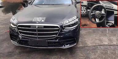 Mega-Leak: Fotos zeigen die neue Mercedes S-Klasse