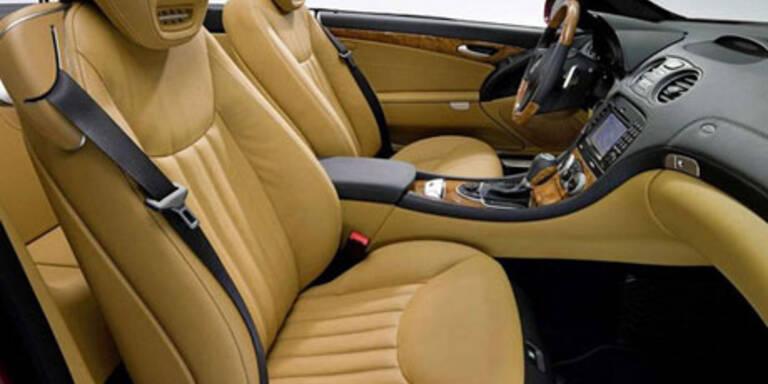 Erste Bilder des Mercedes SL Cabrio