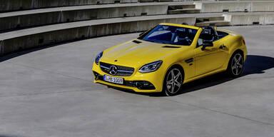 Mercedes schickt den SLC in Rente