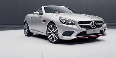 Mercedes bringt den SLC RedArt Edition