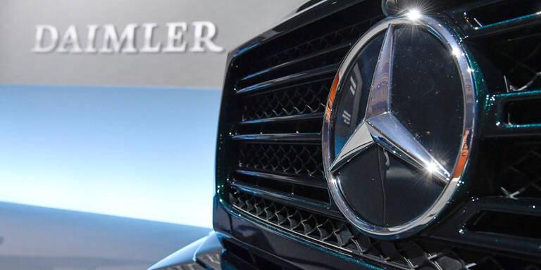 Dieselskandal: Mercedes zahlt 870 Mio. Euro Buße