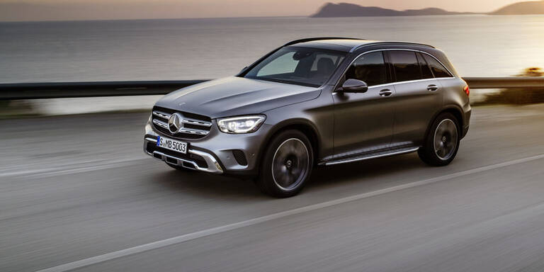 Mercedes auch 2019 vor BMW und Audi