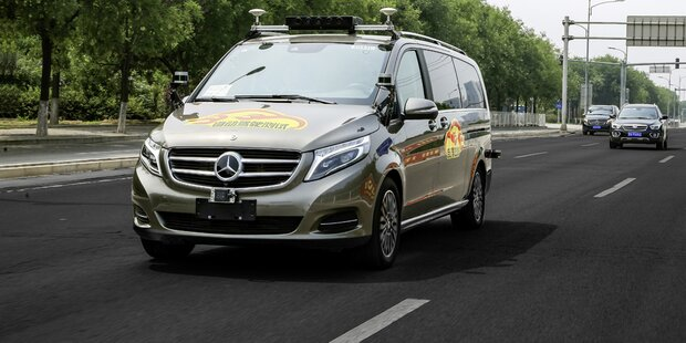 Mercedes forciert Roboterauto-Tests