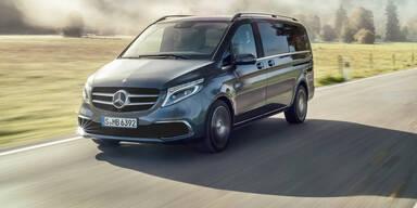 Facelift für die Mercedes V-Klasse
