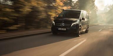 Mercedes rüstet die V-Klasse Marco Polo auf