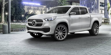 So kommt der neue Mercedes Pick-up