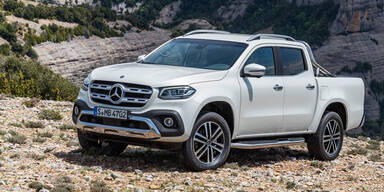 X-Klasse: Alle Infos vom Mercedes Pick-up