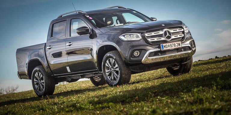 Mercedes stampft die X-Klasse ein