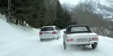 Mercedes mit Häkinnen