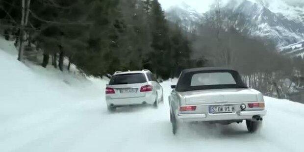 Mercedes mit Mika Häkkinnen