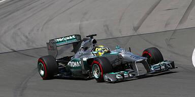 Reifentests: Strafe für Mercedes?