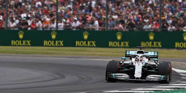 Hamilton gewinnt vor Bottas