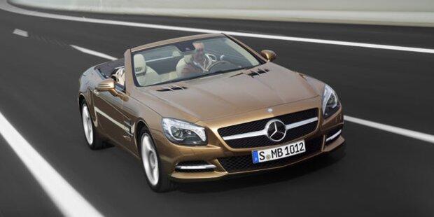 Alle Infos vom neuen Mercedes SL