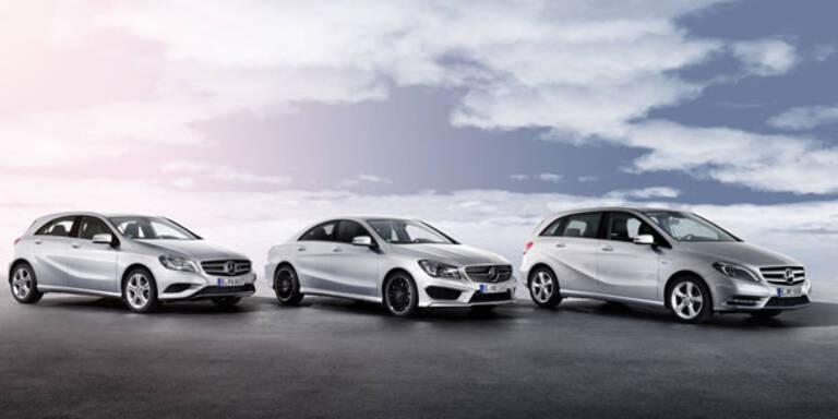 CLA, A- und B-Klasse: 6 neue Modelle starten