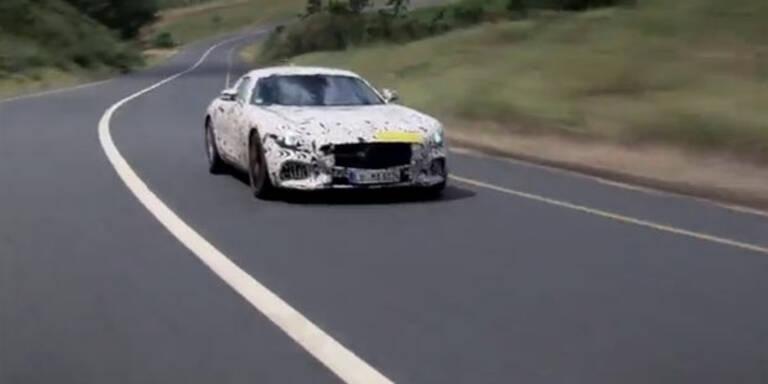Video zeigt den Mercedes AMG GT