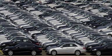 Österreich: Neue Autos begehrt wie nie