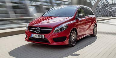 Facelift für die Mercedes B-Klasse