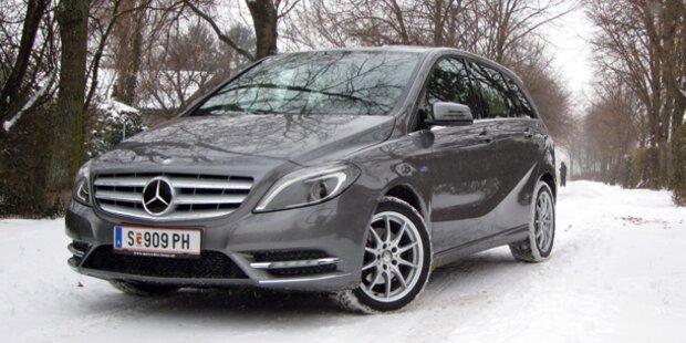Neuer Mercedes B200 CDI im Test