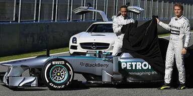 Mercedes: Neuer Silberpfeil enthüllt