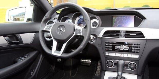 Mercedes C-Coupé mit Diesel im Test