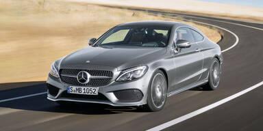 Mercedes greift mit dem C-Klasse Coupé an