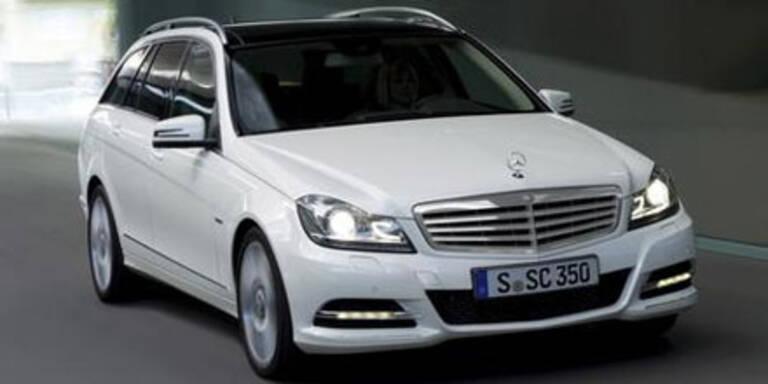 Mercedes verpasst der C-Klasse ein Facelift