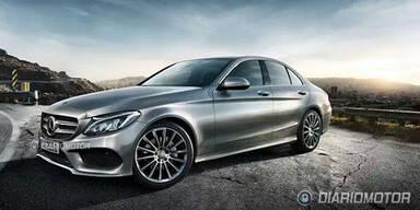 Fotos zeigen nächste Mercedes C-Klasse