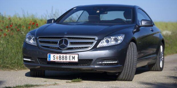 Mercedes CL500 mit Allrad im Test