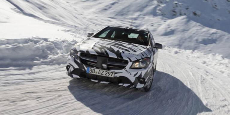 Mercedes CLA mit Allrad aus Österreich