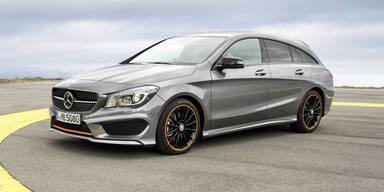 Mercedes frischt GLA, CLA und B-Klasse auf