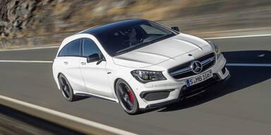 Mercedes frischt GLA & CLA 45 AMG auf