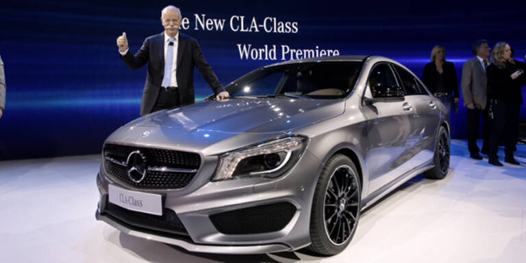 Weltpremiere des Mercedes CLA