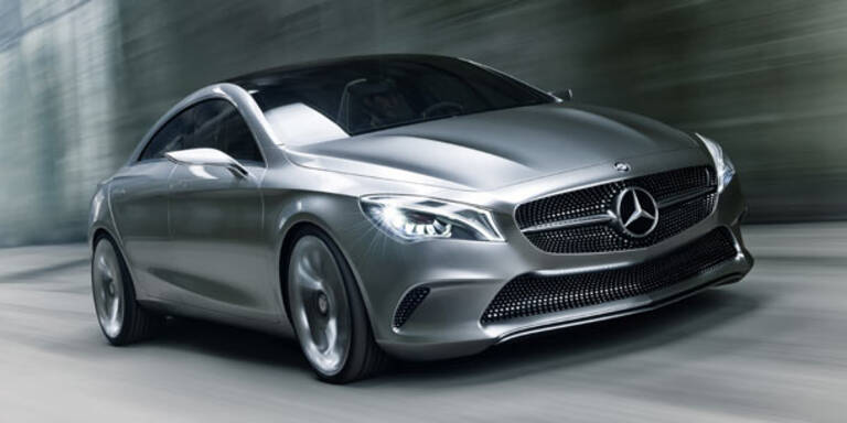 Mercedes drückt bei neuen Autos aufs Tempo