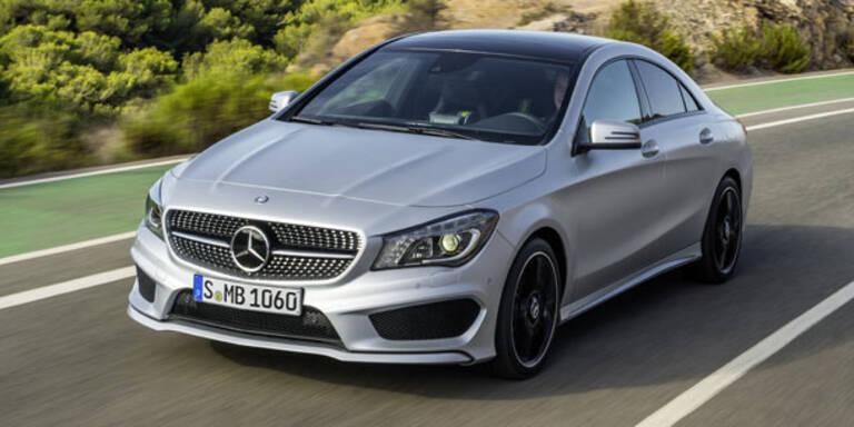 Umwelt-Siegel für den Mercedes CLA