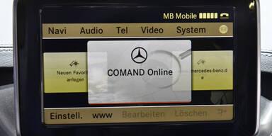 """Mercedes, Audi & BMW kaufen """"Here"""""""