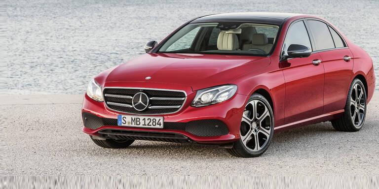 Mercedes zieht an BMW & Audi vorbei