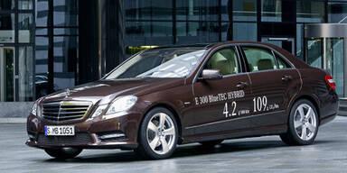 E-Klasse mit Diesel- und Benzin-Hybrid