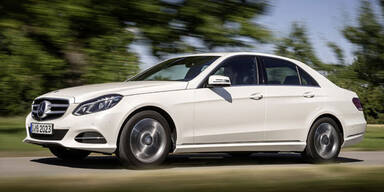 Mercedes bringt zwei sparsame E-Klassen