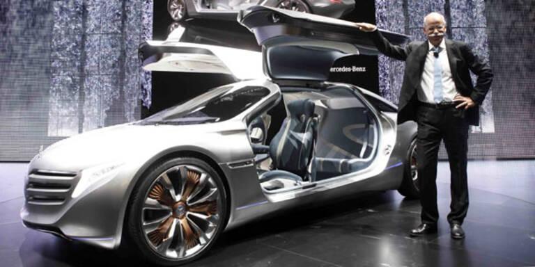 IAA 2011: Mercedes stellt Forschungsauto F125 vor