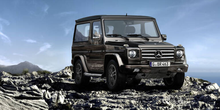 Zwei Sondermodelle der Mercedes G-Klasse