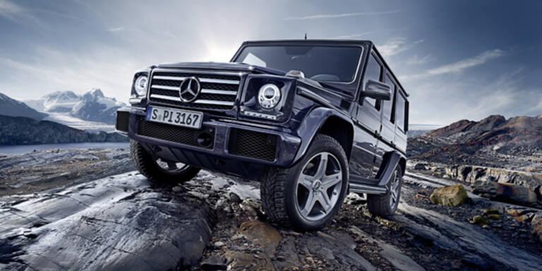 Facelift für die Mercedes G-Klasse