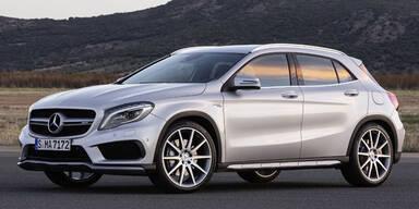 Mercedes stellt den GLA 45 AMG vor