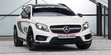 So kommt der Mercedes GLA 45 AMG