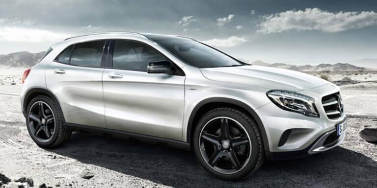 Mercedes GLA startet als Edition 1